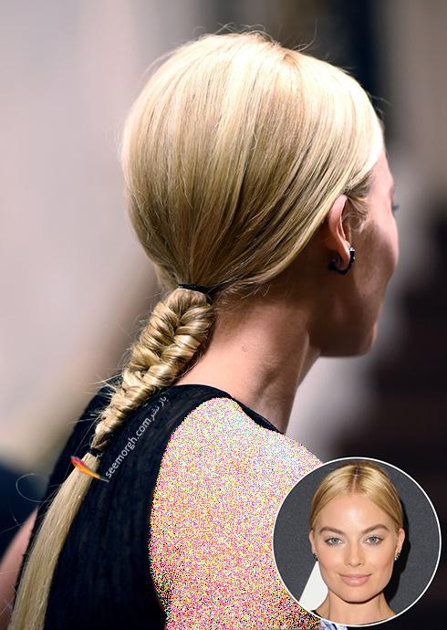 مدل مو تابستانی با بافت به سبک مارگوت رابی Margot Robbie