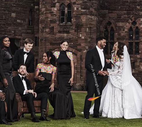 مراسم عروسی سیارا Ciara در قلعه ای در انگلستان - عکس شماره 3