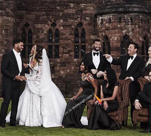 مراسم عروسی سیارا Ciara در قلعه ای در انگلستان - عکس شماره 8