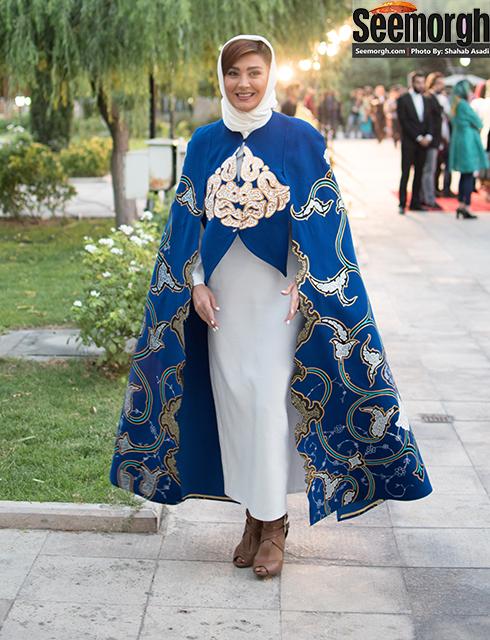 پوشش عجیب مریم معصومی در جشن حافظ