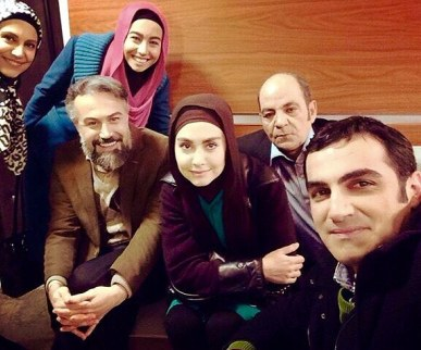 مریم خدارحمی در سریال دور دست ها