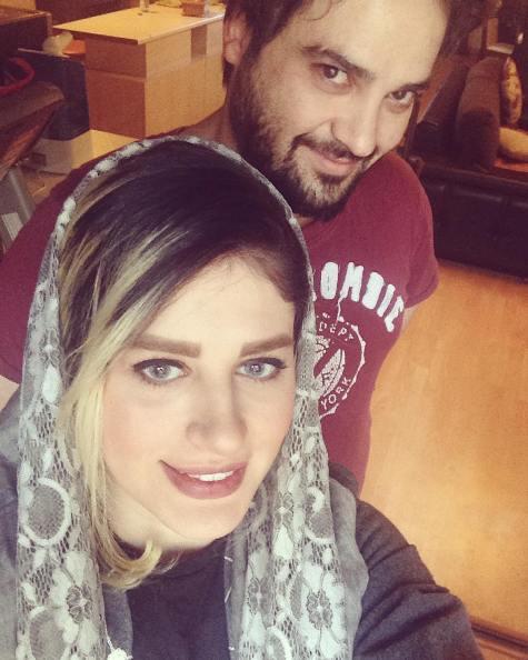 عکس جدید مهدی سلوکی و همسرش