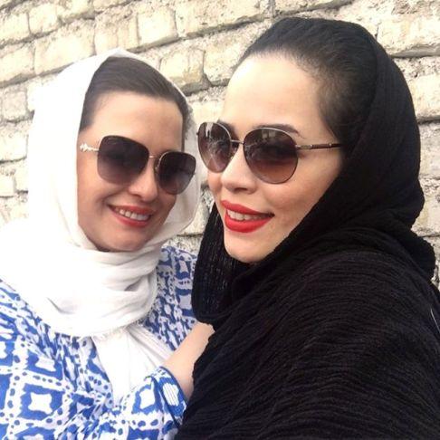 عکس ملیکا و مهراوه شریفی نیا