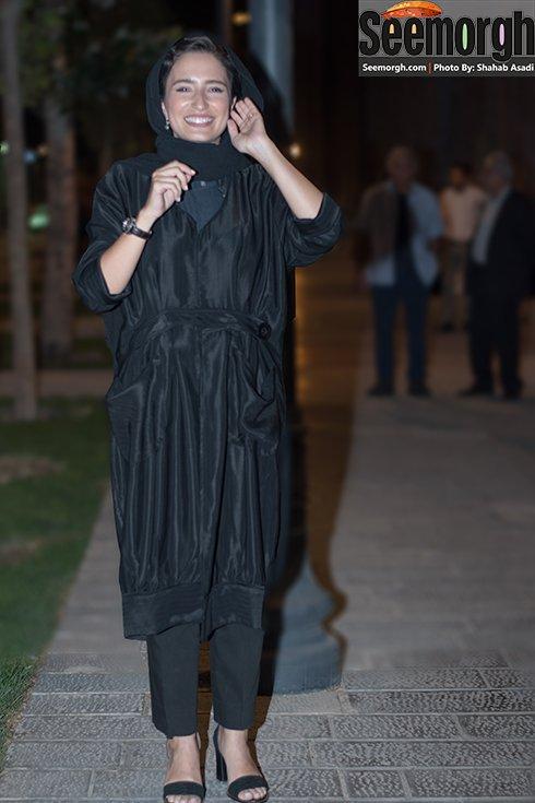 مدل لباس نگار جواهریان در جشن خانه سینما