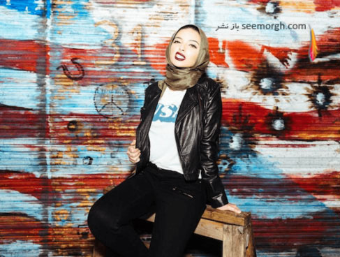نور تاگوری دختر مسلمان در مجله play boy