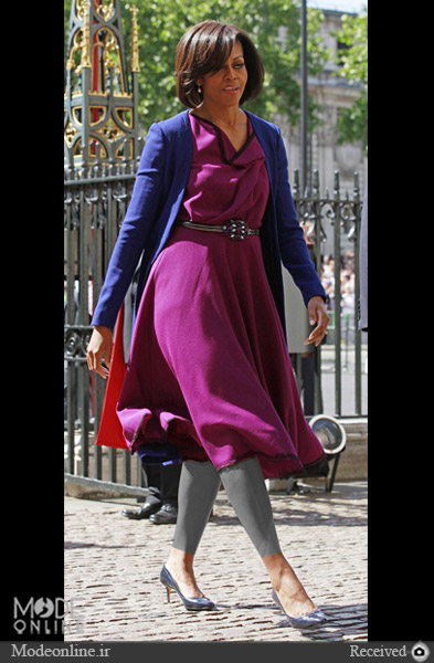 مدل لباس و سبک لباس پوشیدن میشل اوباما