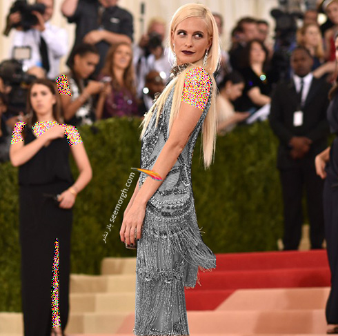 مدل لباس پاپی دلوینگن Poppy Delevingne در مراسم مت گالا Met Gala 2016