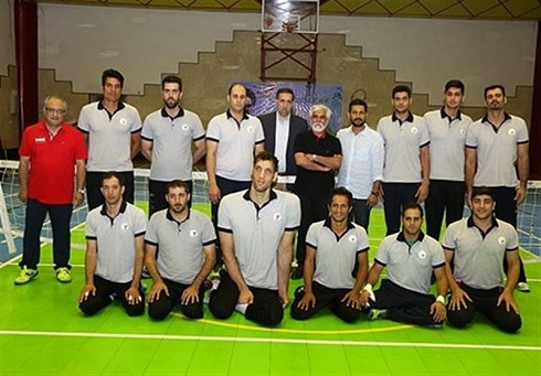 حسین پاکدل در اردوی تیمهای پارالمپیکی