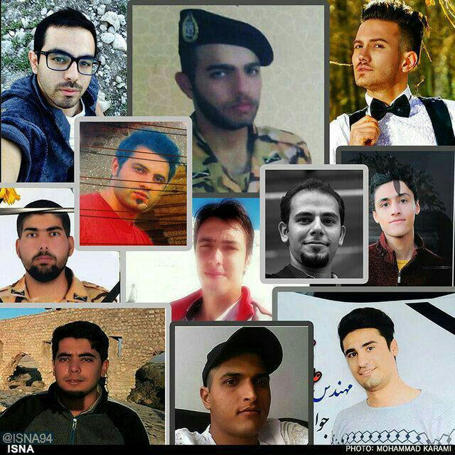 تصاویر تعدادی از سربازانی که در سانحه سقوط اتوبوس کشته شدند