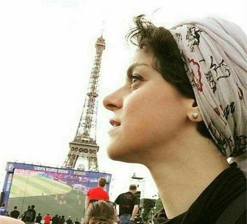 غزل شاکری در یورو 2016