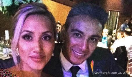 عکس جدید شادمهر و همسرش