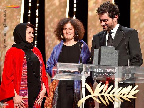 شهاب حسینی بهترین بازیگر جشنواره کن 2016 شد | عکس نخل طلا کن 2016