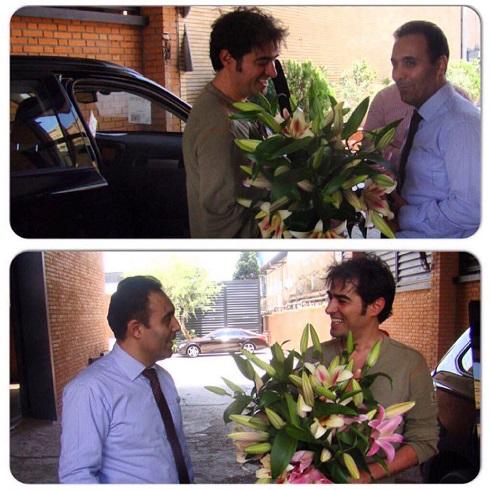 یک تبریک خاص از برند خودروی که شهاب حسینی سوار می شود