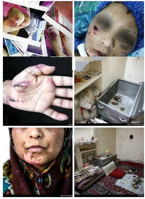 تحمل 21 روز شکنجه دردناک برای این زن و دخترانش + عکس