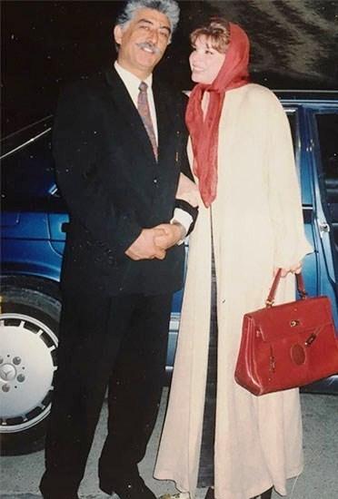 شیوا خنیاگر و همسر سابقش