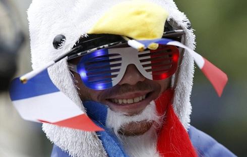 قیافه عجیب تماشاگران یورو 2016(4)
