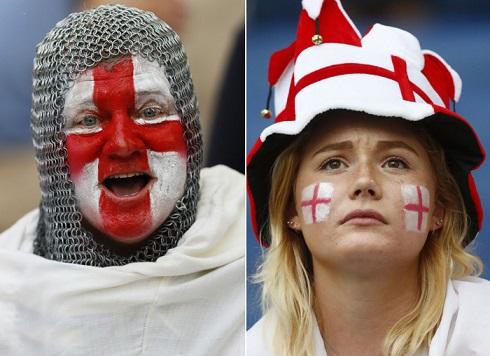 قیافه عجیب تماشاگران یورو 2016(6)