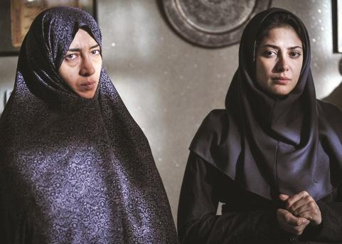 چهره طناز طباطبایی و پانته آ پناهی ها در فیلم اروند