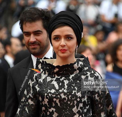 لباس ترانه علیدوستی در اختتامیه جشنواره کن 2016 Cannes