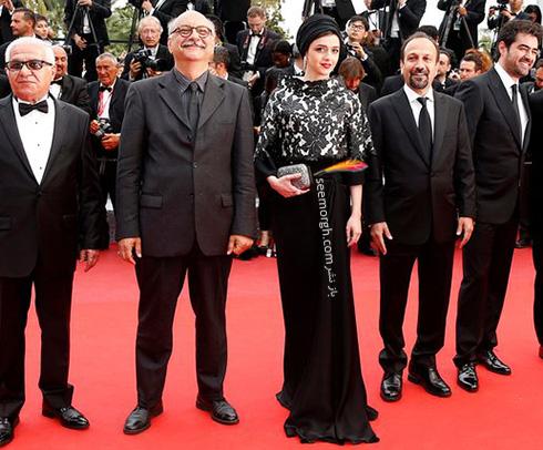 عکس لباس ترانه علیدوستی در اختتامیه جشنواره کن 2016 Cannes