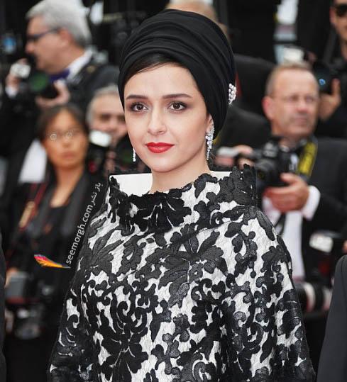 عکس مدل لباس ترانه علیدوستی در اختتامیه جشنواره کن 2016 Cannes