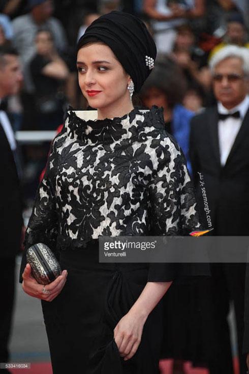مدل لباس ترانه علیدوستی در اختتامیه جشنواره کن 2016 Cannes