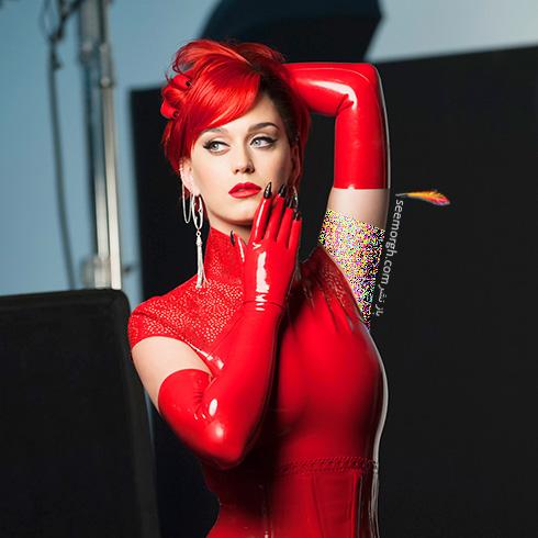 عکس های جدید کیتی پری Katy Perry برای برند کاور گرل Cover Girl - عکس شماره 4