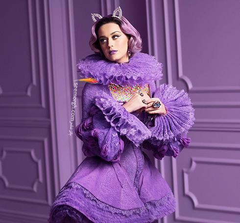 عکس های جدید کیتی پری Katy Perry برای برند کاور گرل Cover Girl - عکس شماره 5