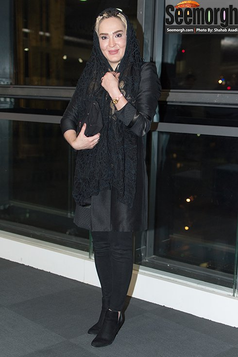 مدل مانتو زهره فکور صبور در اکران متولد 65