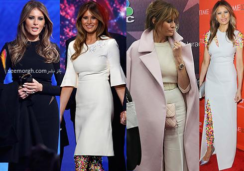 مدل لباس ملانیا ترامپ Melania Trump - عکس شماره 2
