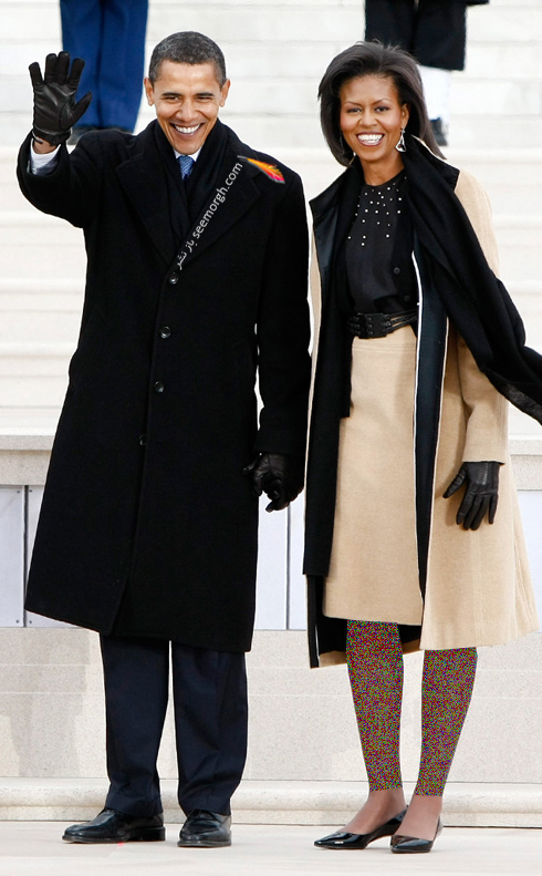 مدل لباس میشل اوباما Michelle Obama در سال 2009 - عکس شماره 2