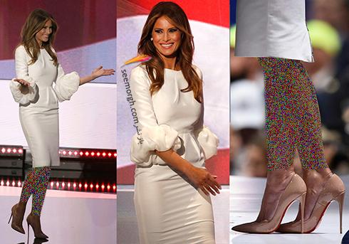مدل لباس ملانیا ترامپ Melania Trump - عکس شماره 3