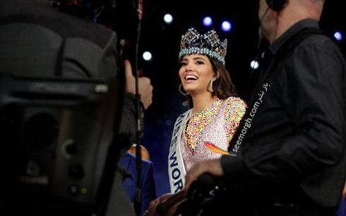 استفانی دل واله  Dominican Republic از کشور پورتوریکو Miss World 2016