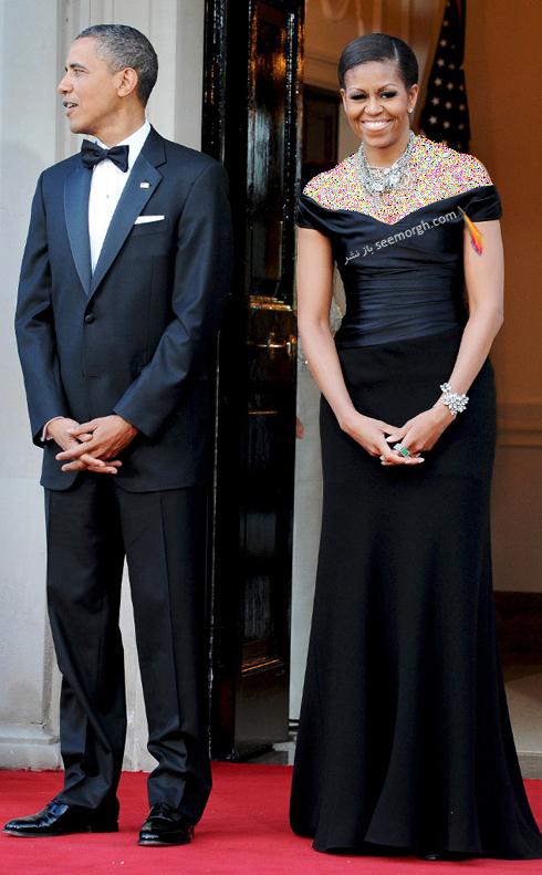 مدل لباس میشل اوباما Michelle Obama در سال 2011 - عکس شماره 4