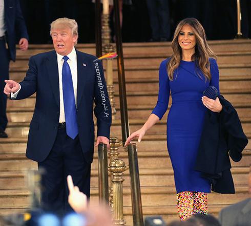 مدل لباس ملانیا ترامپ Melania Trump - عکس شماره 5