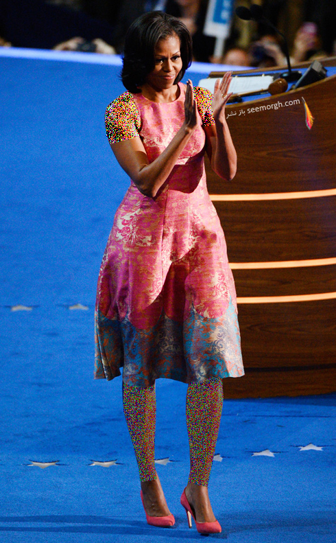مدل لباس میشل اوباما Michelle Obama در سال 2012 - عکس شماره 6