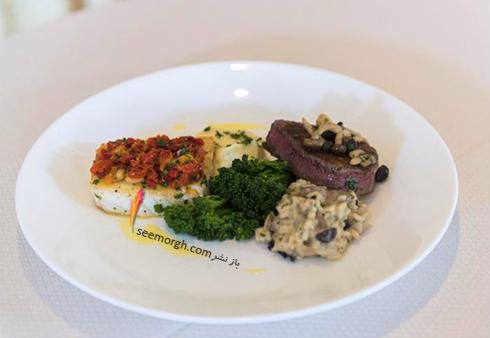غذای اصلی شب گلدن گلوب Golden Globe 2017