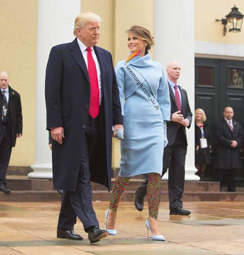 مدل لباس ملانیا ترامپ Melania Trump - عکس شماره 9