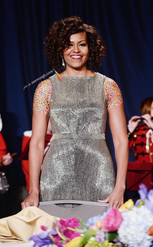 مدل لباس میشل اوباما Michelle Obama در سال 2015 - عکس شماره 9