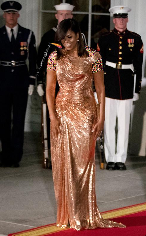 مدل لباس میشل اوباما Michelle Obama در سال 2016 - عکس شماره 10