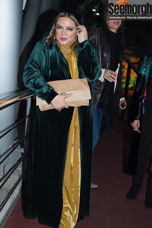مدل مانتو بهاره رهنما در چهارمین روز جشنواره فجر 35