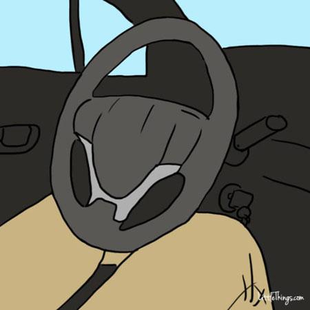 شخصیت شناسی براساس مدل گرفتن فرمان خودرو