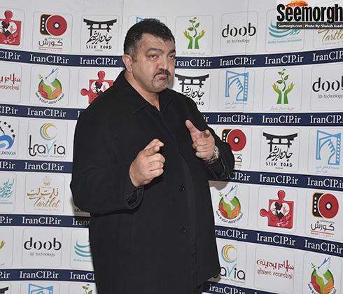احمد ایراندوست در اکران فیلم سلام بمبئی در پردیس کوروش