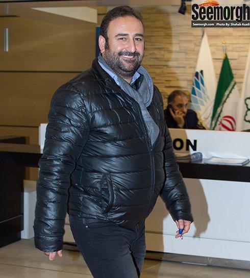 مدل لباس احمد مهران فر در افتتاحیه جشنواره فجر 35