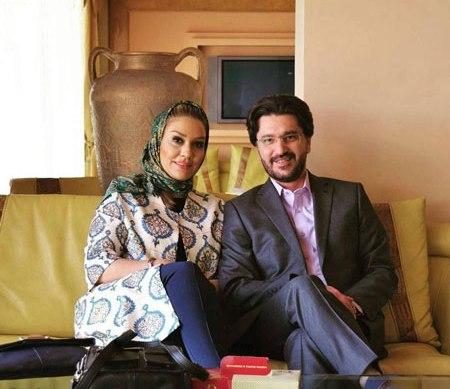 امیرحسین مدرس و همسرش بهار بهارمست