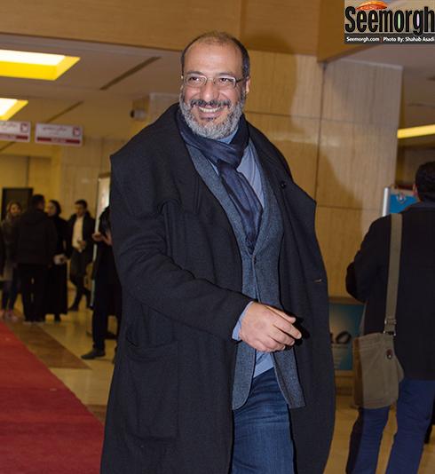 مدل لباس امیر جعفری در افتتاحیه جشنواره فجر 35