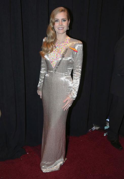 مدل لباس امی آدامز Amy Adams در مراسم اسکار 2017