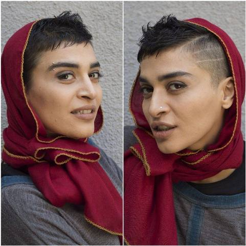چهره خاص و متفاوت اندیشه فولادوند با مدل مویی عجیب! عکس