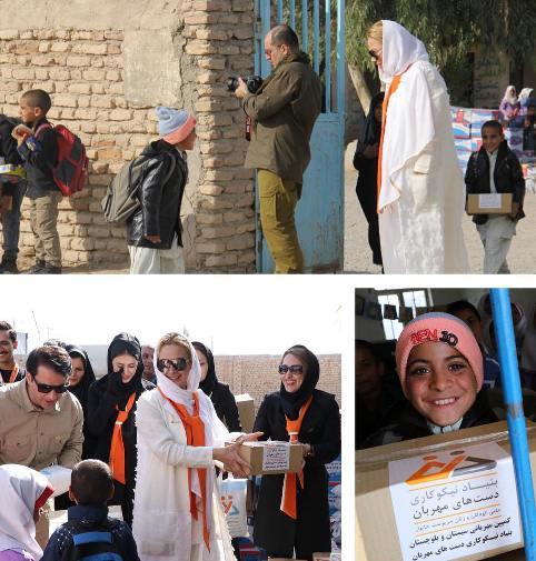 آنا نعمتی در مدرسه ای در شهر زابل 2