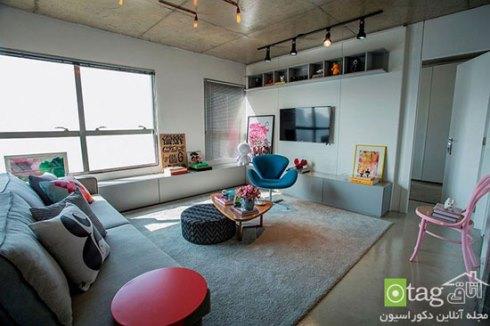 دکوراسیون کاربردی یک آپارتمان 70 متری - عکس شماره 1